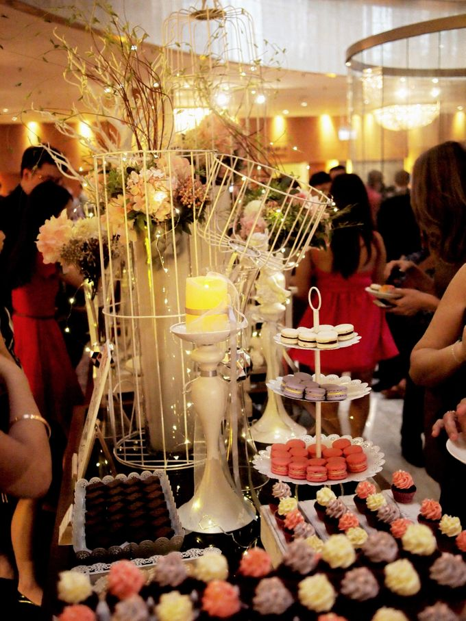 Wedding Paradiso Dessert Table by Manna Pot Catering - 008