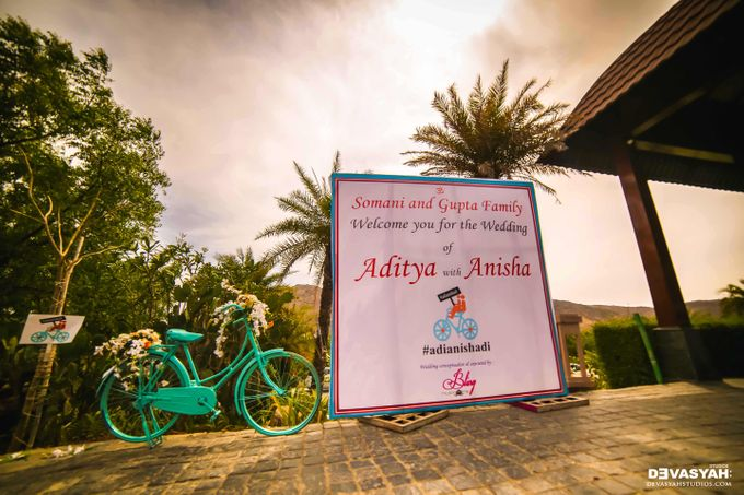 A Beautiful Destination Wedding of Anisha & Aditya by Devasyah: Studios - 001