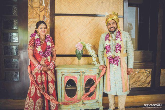 A Beautiful Destination Wedding of Anisha & Aditya by Devasyah: Studios - 033