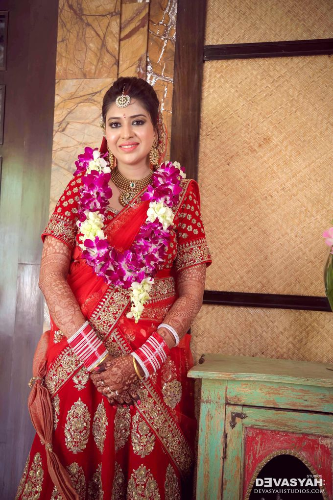 A Beautiful Destination Wedding of Anisha & Aditya by Devasyah: Studios - 034