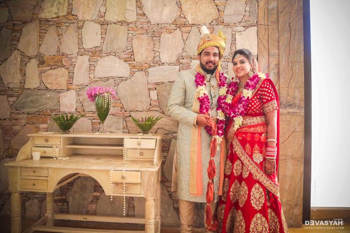 A Beautiful Destination Wedding of Anisha & Aditya by Devasyah: Studios - 035