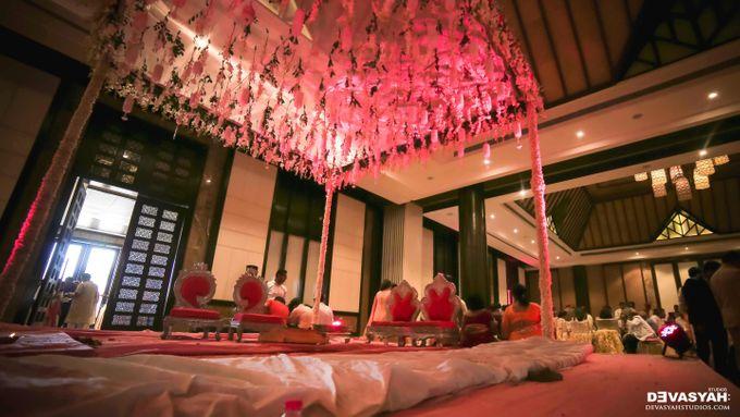 A Beautiful Destination Wedding of Anisha & Aditya by Devasyah: Studios - 036