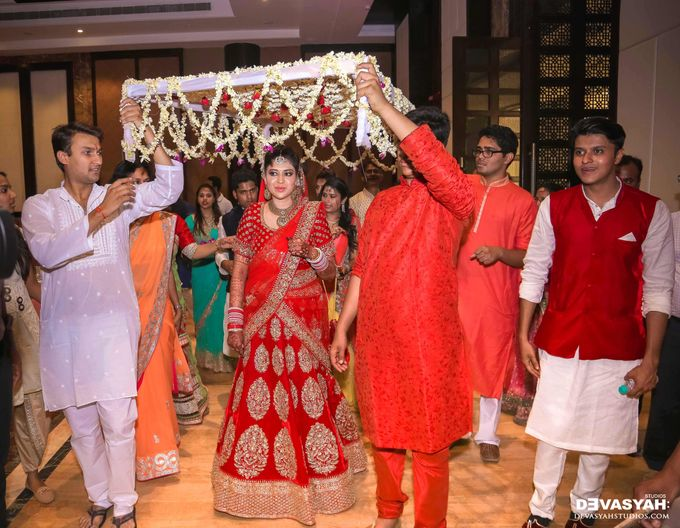 A Beautiful Destination Wedding of Anisha & Aditya by Devasyah: Studios - 037
