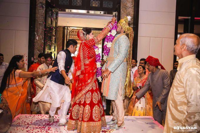 A Beautiful Destination Wedding of Anisha & Aditya by Devasyah: Studios - 038