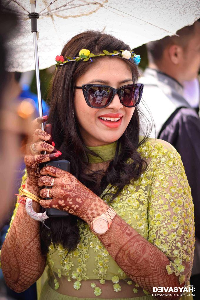 A Beautiful Destination Wedding of Anisha & Aditya by Devasyah: Studios - 003