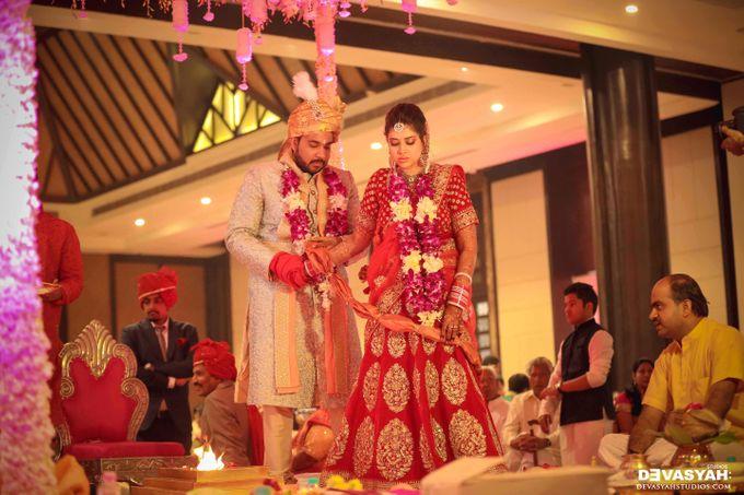A Beautiful Destination Wedding of Anisha & Aditya by Devasyah: Studios - 040
