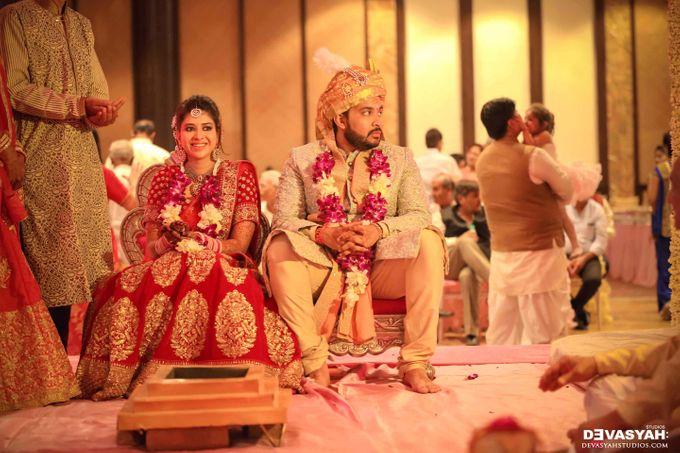 A Beautiful Destination Wedding of Anisha & Aditya by Devasyah: Studios - 043