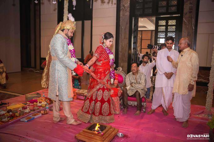 A Beautiful Destination Wedding of Anisha & Aditya by Devasyah: Studios - 045