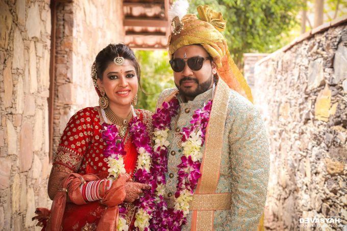 A Beautiful Destination Wedding of Anisha & Aditya by Devasyah: Studios - 046