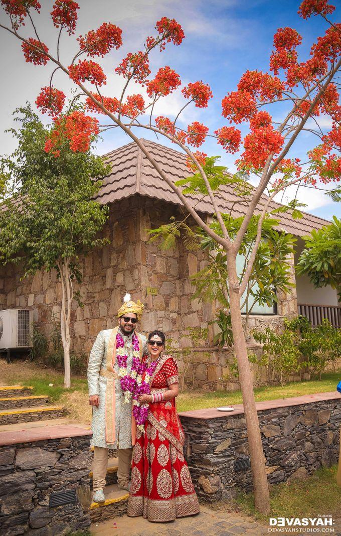A Beautiful Destination Wedding of Anisha & Aditya by Devasyah: Studios - 047