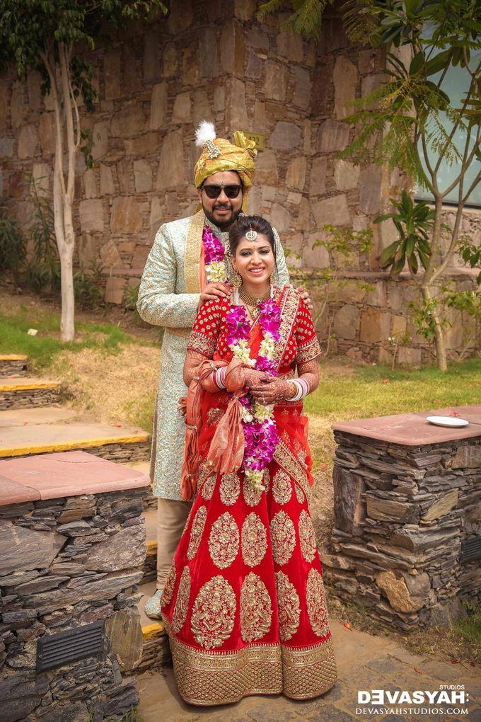 A Beautiful Destination Wedding of Anisha & Aditya by Devasyah: Studios - 048