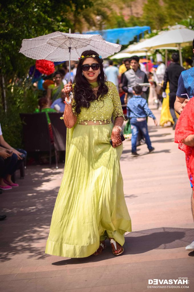 A Beautiful Destination Wedding of Anisha & Aditya by Devasyah: Studios - 004