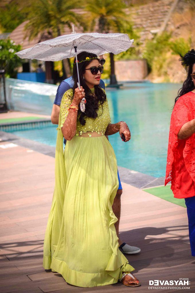 A Beautiful Destination Wedding of Anisha & Aditya by Devasyah: Studios - 007