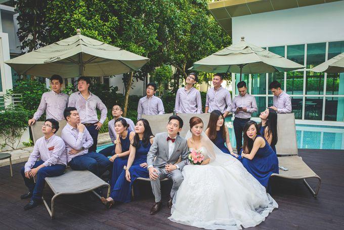 Wedding Photography Singapore - Fullerton Hotel - Tai & Elaine by Rave Memoirs - 032