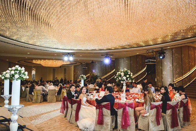 Wedding Photography Singapore Fullerton Hotel Tai Elaine By