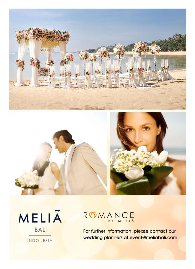 Wedding Poster 2016 by Meliá Bali Indonesia - 001