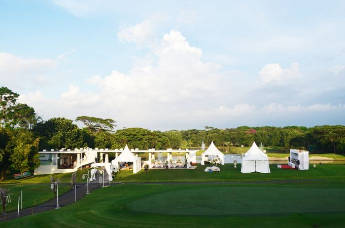 Outdoor Wedding at Modern Golf Course & Country Club by Modern Golf & Country Club - 001