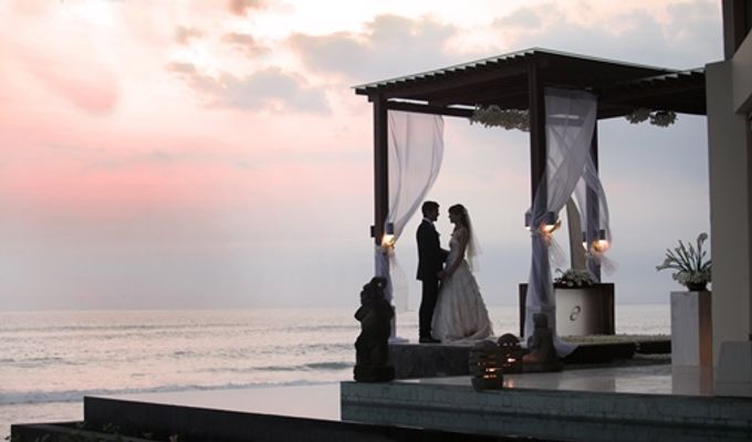 Wedding Ceremony and Dinner Reception by The Seminyak Beach Resort & Spa - 005