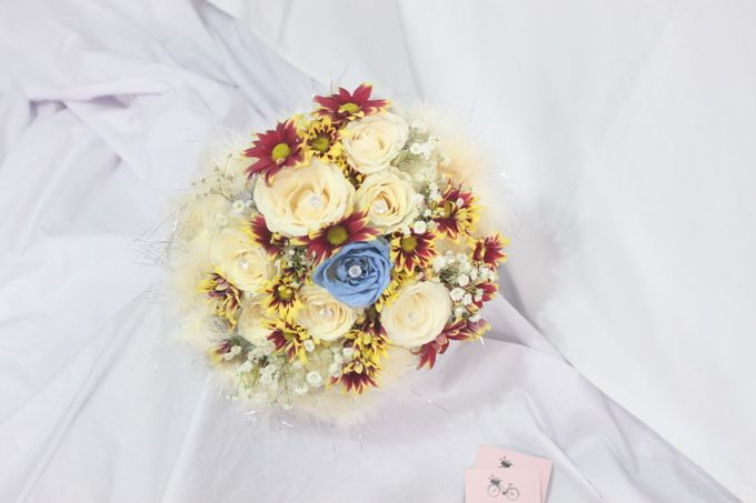 wedding Bouquet by La Fleuriste Clara - 001