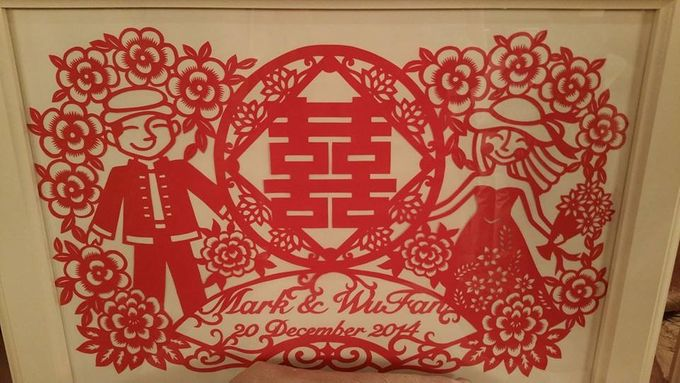 Wedding of Mark Tan & Wu Fan by Bi-lingual Female Emcee Sharlyn Lim - 002