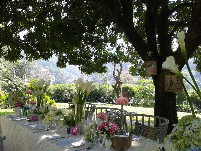 Unforgettable Garden Wedding Decor: Towers Garden Wedding Decoration By Sheraton Bandung Hotel