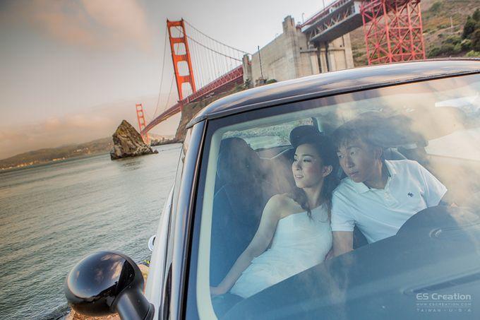 Pre wedding in San francisco by ES Creation Photography - 025