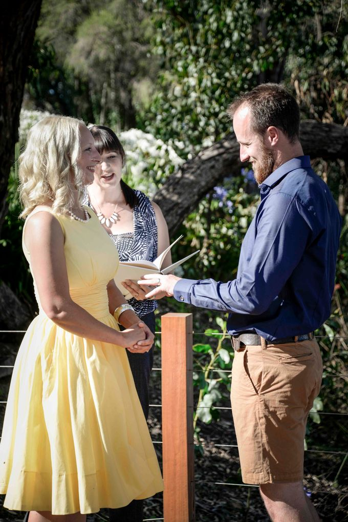 Lighthearted and modern wedding ceremonies by Camille Abbott - Marriage Celebrant - 010