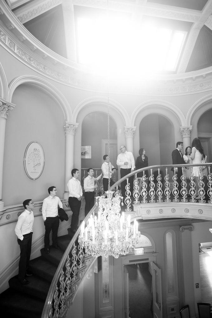 Wedding ceremony by The Wedding Barn Gallery - 011