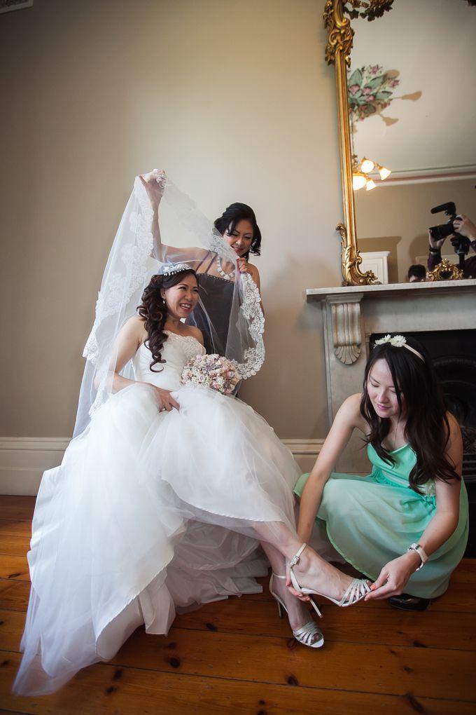 Wedding ceremony by The Wedding Barn Gallery - 012