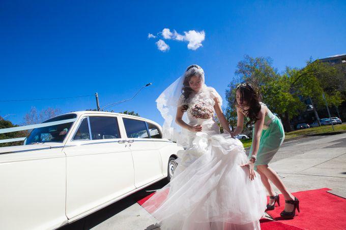 Wedding ceremony by The Wedding Barn Gallery - 019