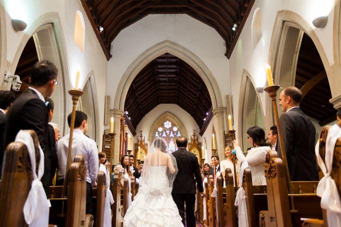 Wedding ceremony by The Wedding Barn Gallery - 020