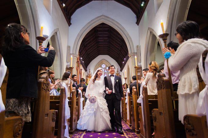 Wedding ceremony by The Wedding Barn Gallery - 021