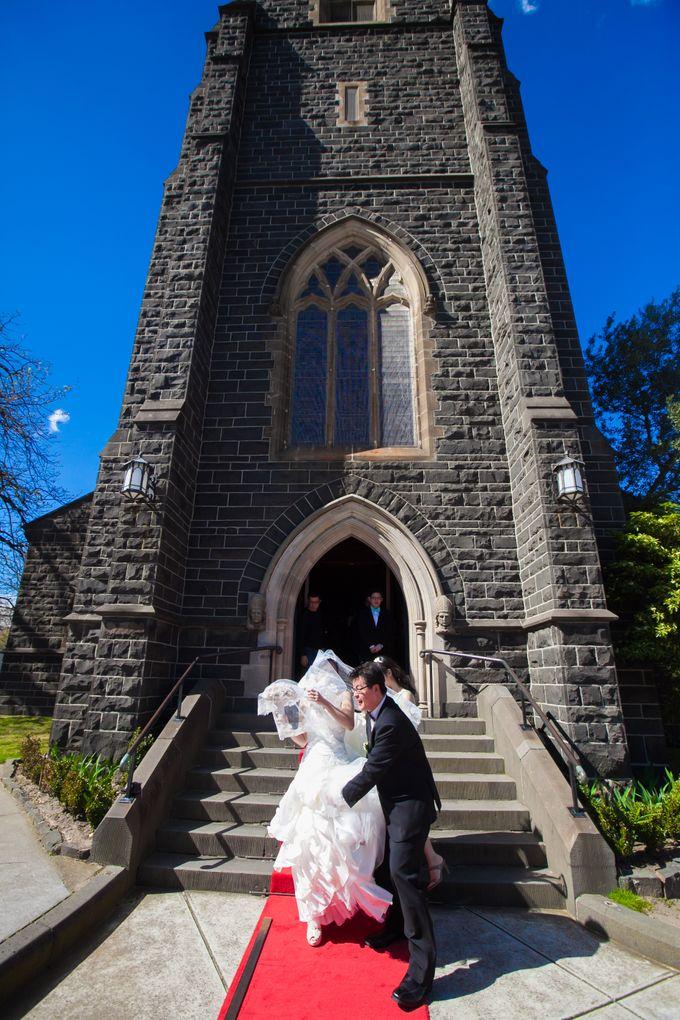 Wedding ceremony by The Wedding Barn Gallery - 022