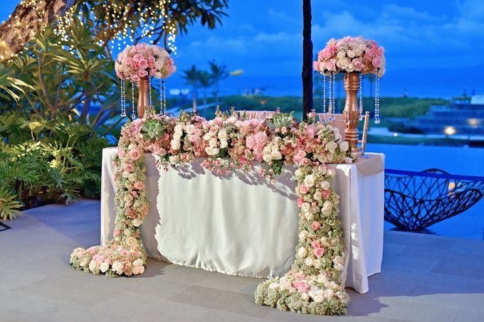 Elegant Wedding for Donna & Ricky by magical blossoms - 024