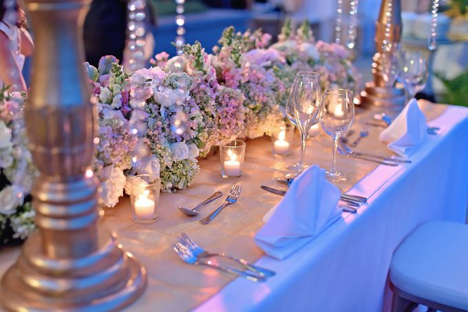 Elegant Wedding for Donna & Ricky by magical blossoms - 025
