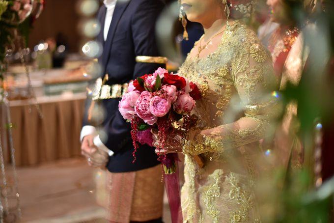 Modern Mandailing Wedding with Video Mapping by Dikaderadjat - 024