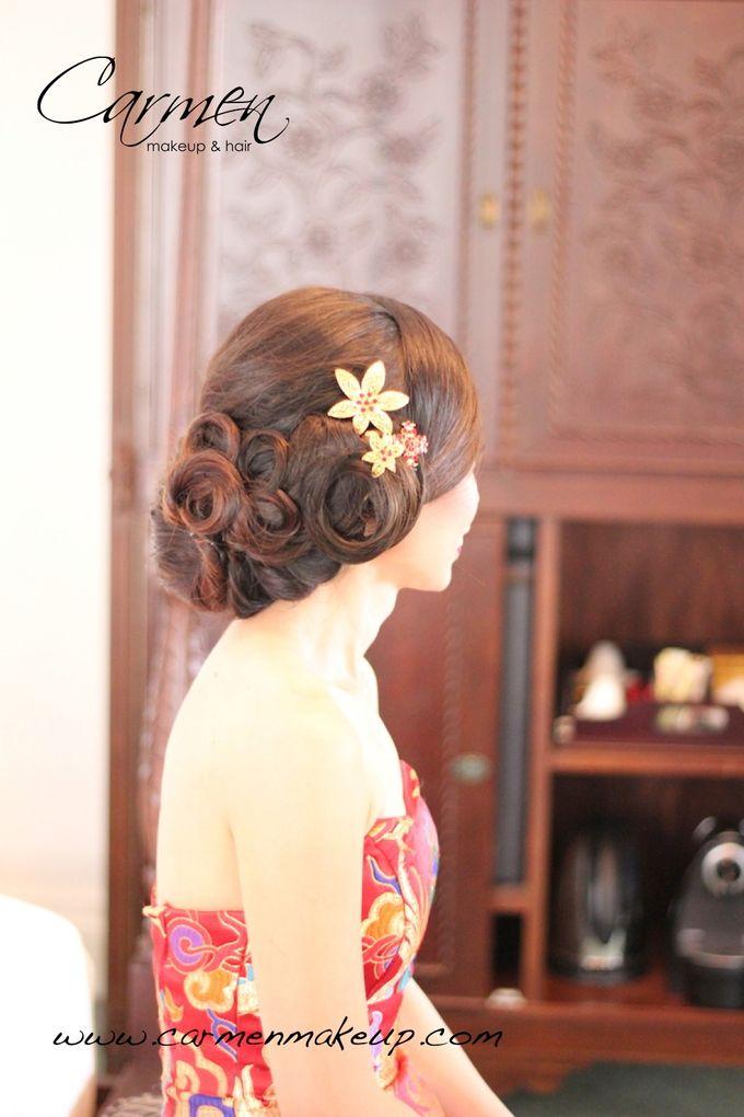 Brides Actual Day by Carmen Makeup & Hair - 015