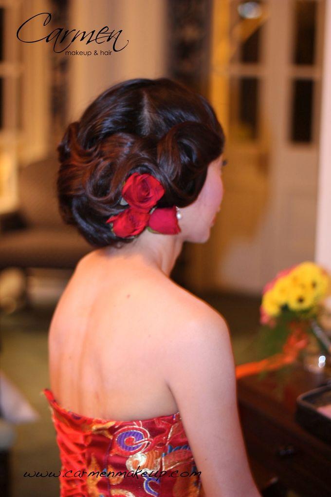 Brides Actual Day by Carmen Makeup & Hair - 016