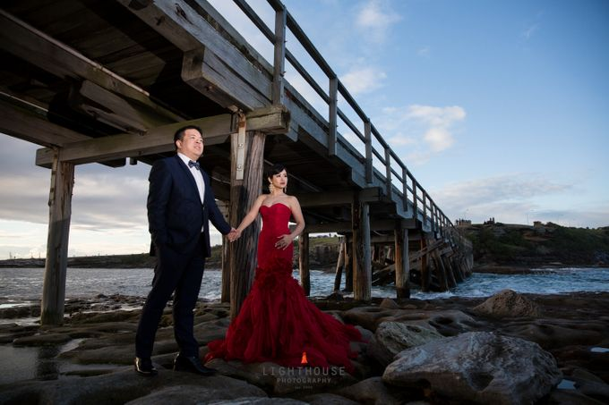 The Prewedding of Yudy and Lily - Sydney by Lighthouse Photography - 001
