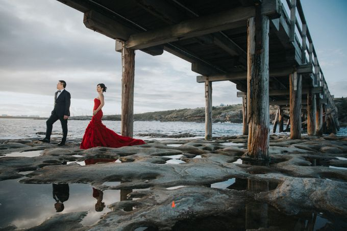 The Prewedding of Yudy and Lily - Sydney by Lighthouse Photography - 002