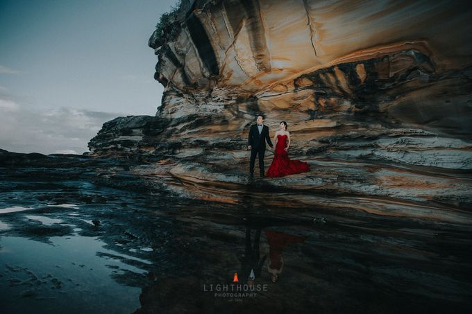 The Prewedding of Yudy and Lily - Sydney by Lighthouse Photography - 004