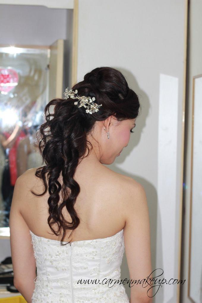 Brides Actual Day by Carmen Makeup & Hair - 017