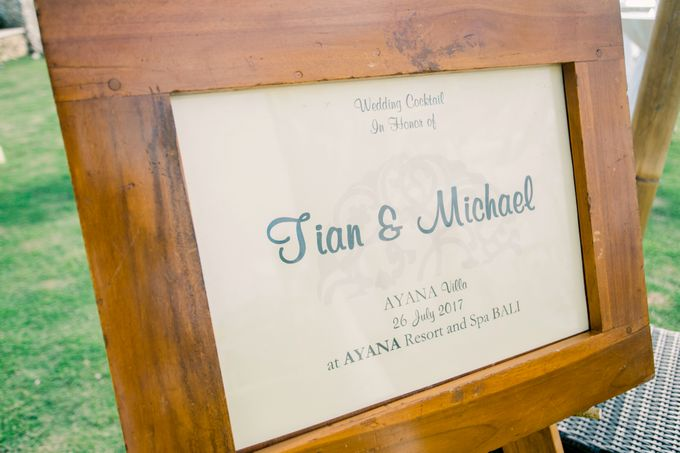 The Wedding of  Tian & Michael at Ayana Villa by Red Gardenia - 004