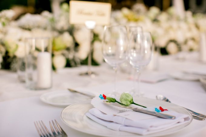 The Wedding of  Tian & Michael at Ayana Villa by Red Gardenia - 005