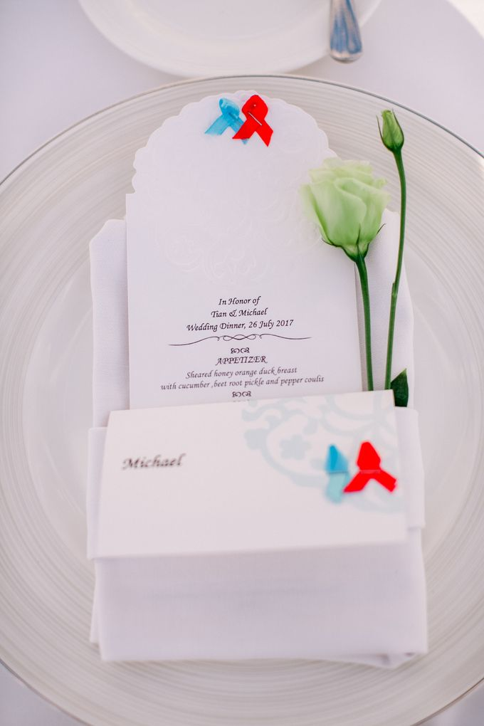 The Wedding of  Tian & Michael at Ayana Villa by Red Gardenia - 006