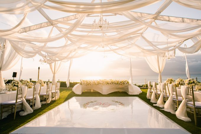 The Wedding of  Tian & Michael at Ayana Villa by Red Gardenia - 009