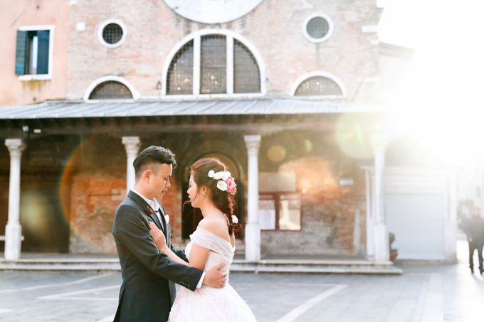 A Romantic Pre-Wedding in Venice-Italy by DUC THIEN PHOTOGRAPHY - 001