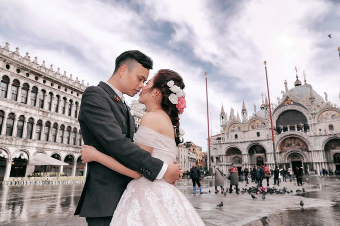 A Romantic Pre-Wedding in Venice-Italy by DUC THIEN PHOTOGRAPHY - 003