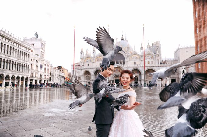 A Romantic Pre-Wedding in Venice-Italy by DUC THIEN PHOTOGRAPHY - 004