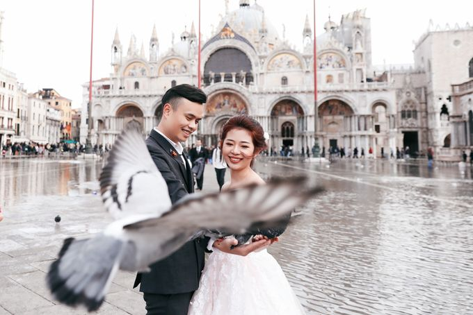 A Romantic Pre-Wedding in Venice-Italy by DUC THIEN PHOTOGRAPHY - 005